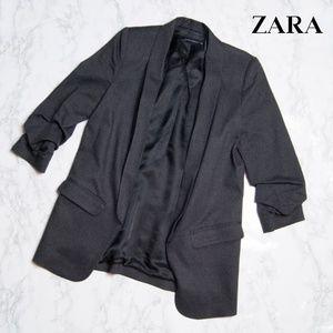 ZARA Woman Dark Grey Blazer